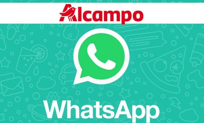 Compra en Alcampo por WhatsApp
