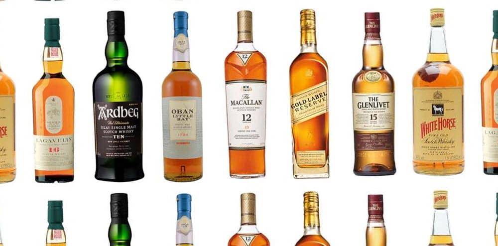 Whisky marca blanca en Mercadona, Lild, Carrefour, Alcampo y DIA