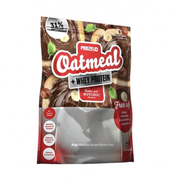 Avena integral en polvo Prozis 1 - 7 productos de Carrefour para para hacer una dieta fitness