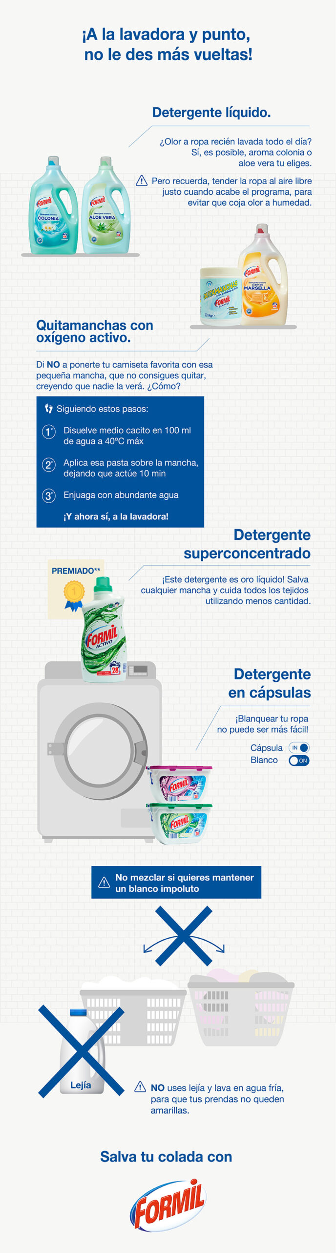 como utilizar detergente formil scaled - Conoce al detergente estrella de LIDL