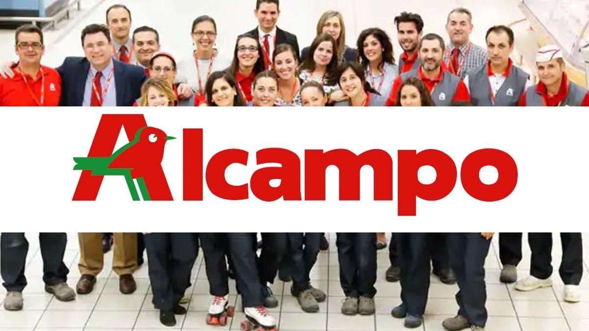 1650 plazas de empleo en Alcampo