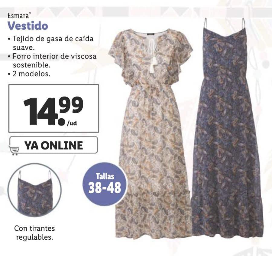 vestido boho lidl - Colección de ropa Boho Esmara en Lidl