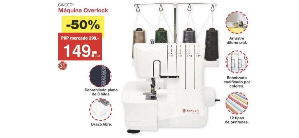 precio remalladora lidl 1 1024x473 - Remalladora overlock Singer de Lidl