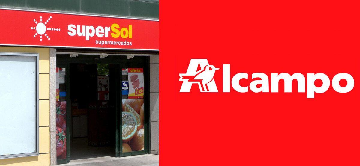 Alcampo quiere comprar 42 tiendas de Supersol
