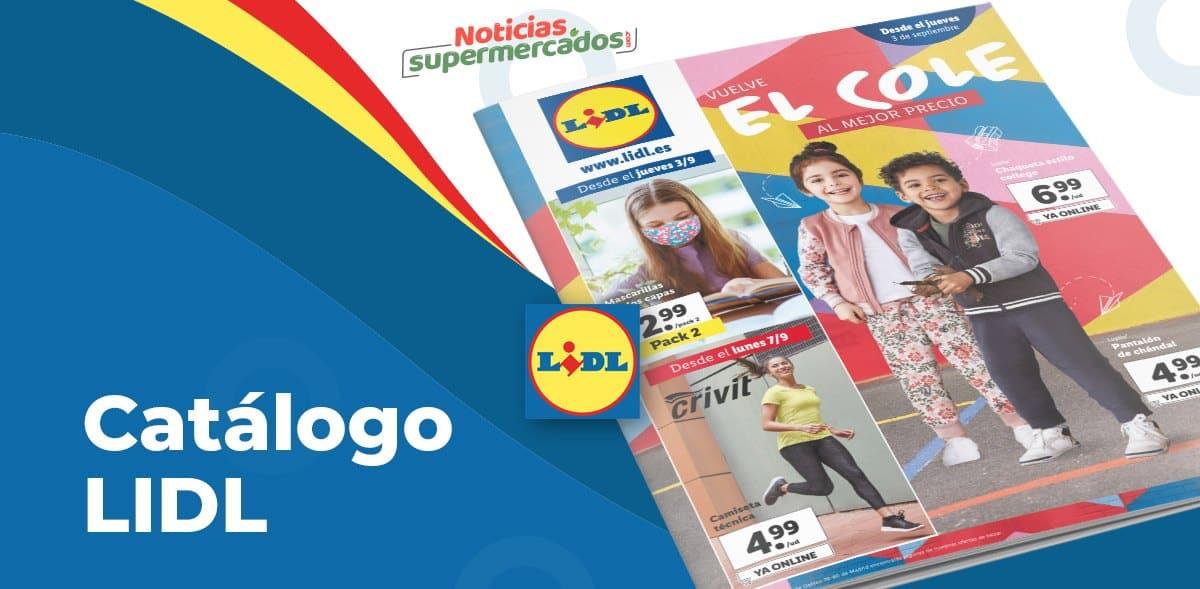 Catálogo productos nuevos en Lidl hasta el 9 septiembre