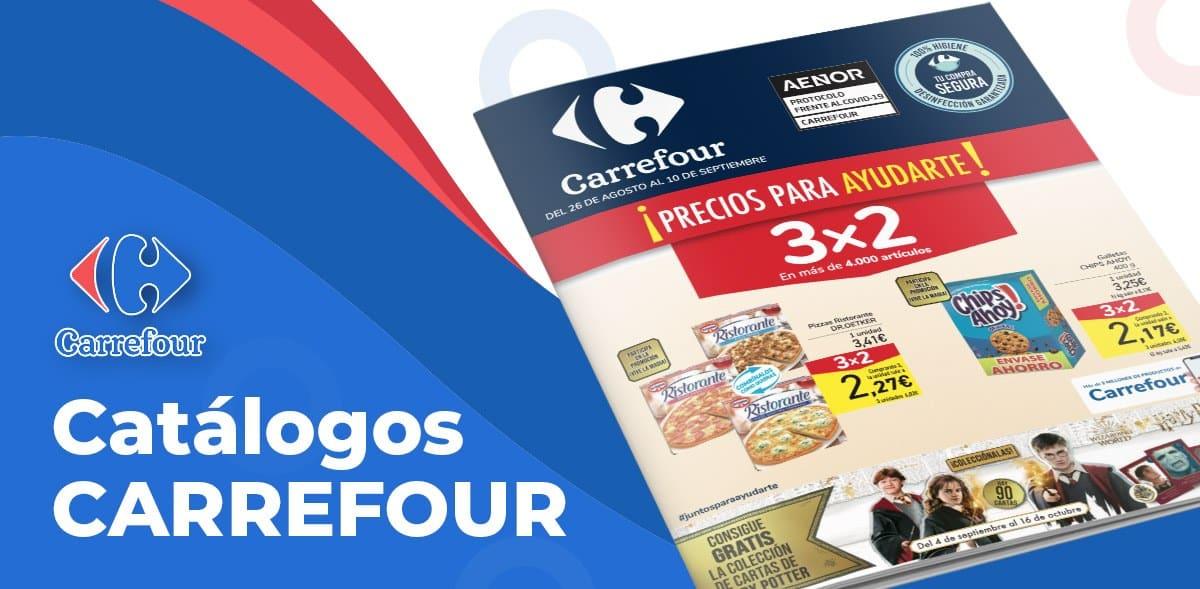 Catálogo Carrefour 3x2 del 26 al 10 septiembre