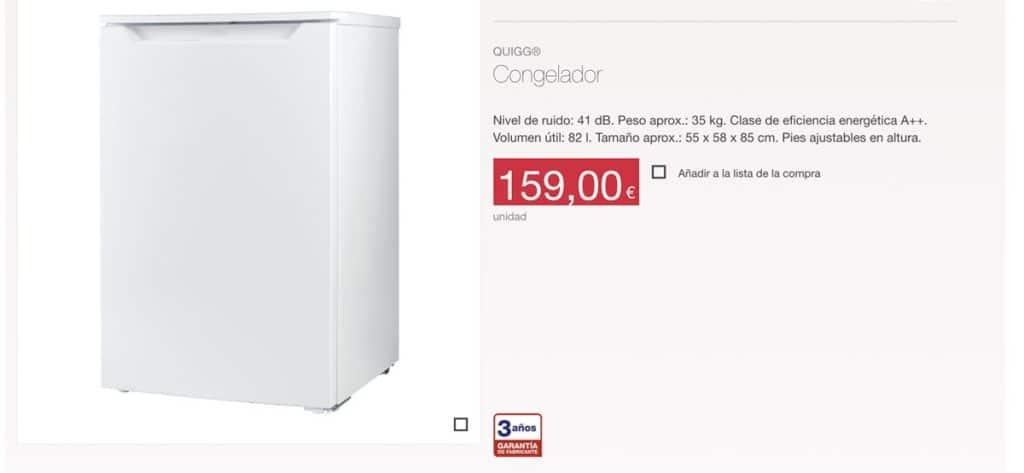 precio congelador aldi 1024x473 - Congelador ALDI