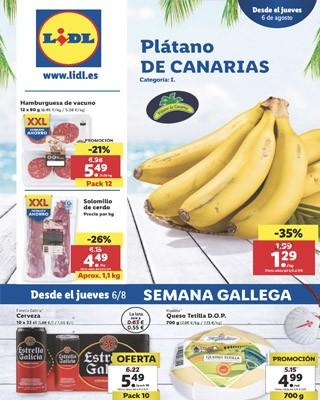 semana gallega lidl - Ofertas de artículos en Lidl del 6 al 12 agosto