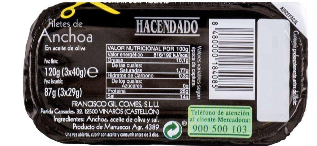 valor nutricional anchoas 1024x473 - Anchoas del Mercadona rompen récords de ventas