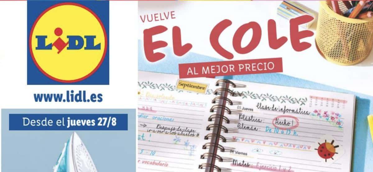 Catálogo online Vuelta al Cole en Lidl