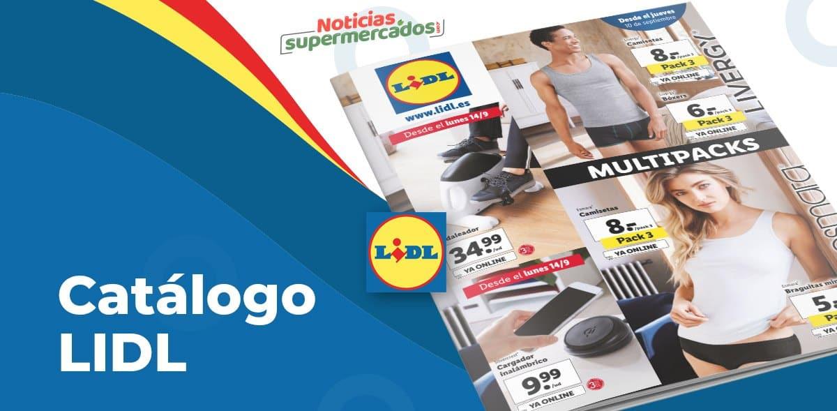 Catálogo productos nuevos en Lidl del 10 al 16 septiembre