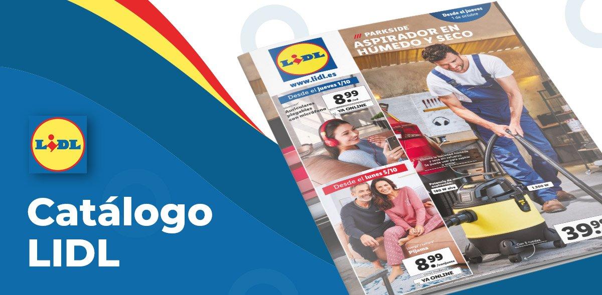 Nuevo folleto Lidl de productos del 1 al 7 octubre