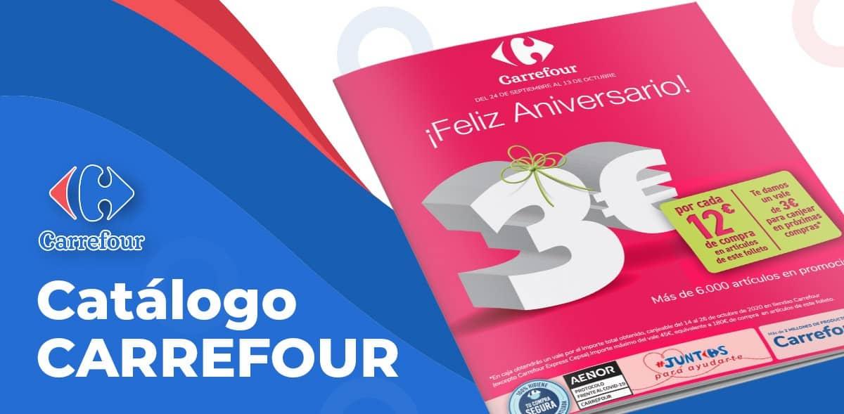 Catálogo aniversario en Carrefour