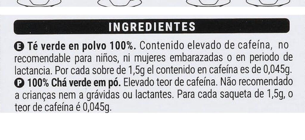 ingredientes te matcha 1024x473 - Té Matcha Mercadona