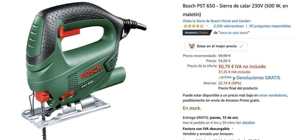 sierra calar bosch amazon 1024x473 - Ofertas herramientas Bosh en Prime Day de Amazon