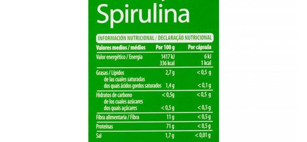 Cápsulas Fucus Spirulina Deliplus