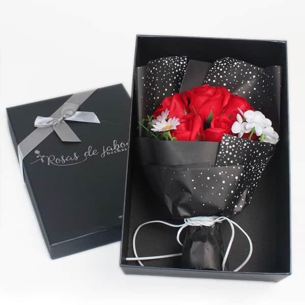 ramo rosas amor eterno 1 - Ramos de rosas de jabón al 50% en BlackFriday