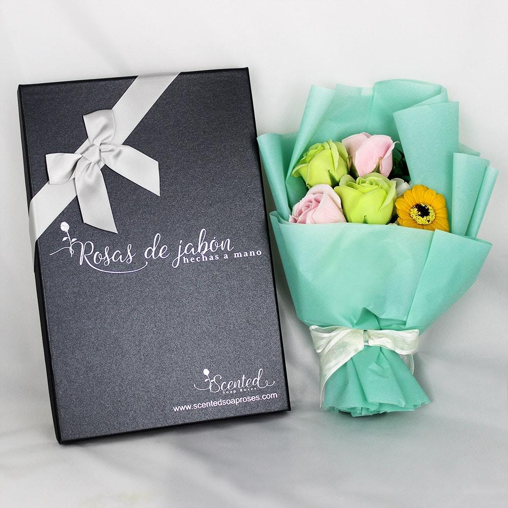ramo rosas jabon bosque encantado - Ramos de rosas de jabón al 50% en BlackFriday