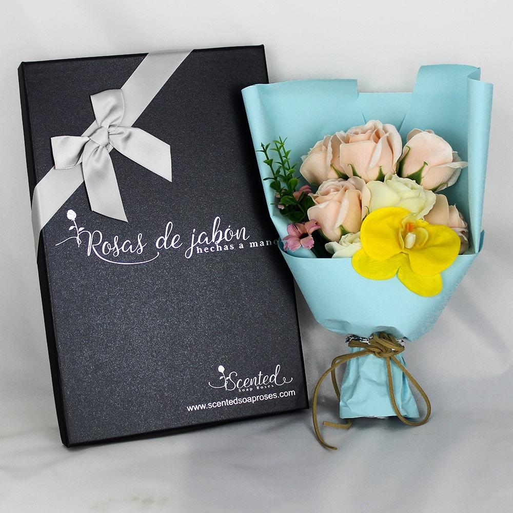 ramo rosas jabon dulce armonia - Ramos de rosas de jabón al 50% en BlackFriday