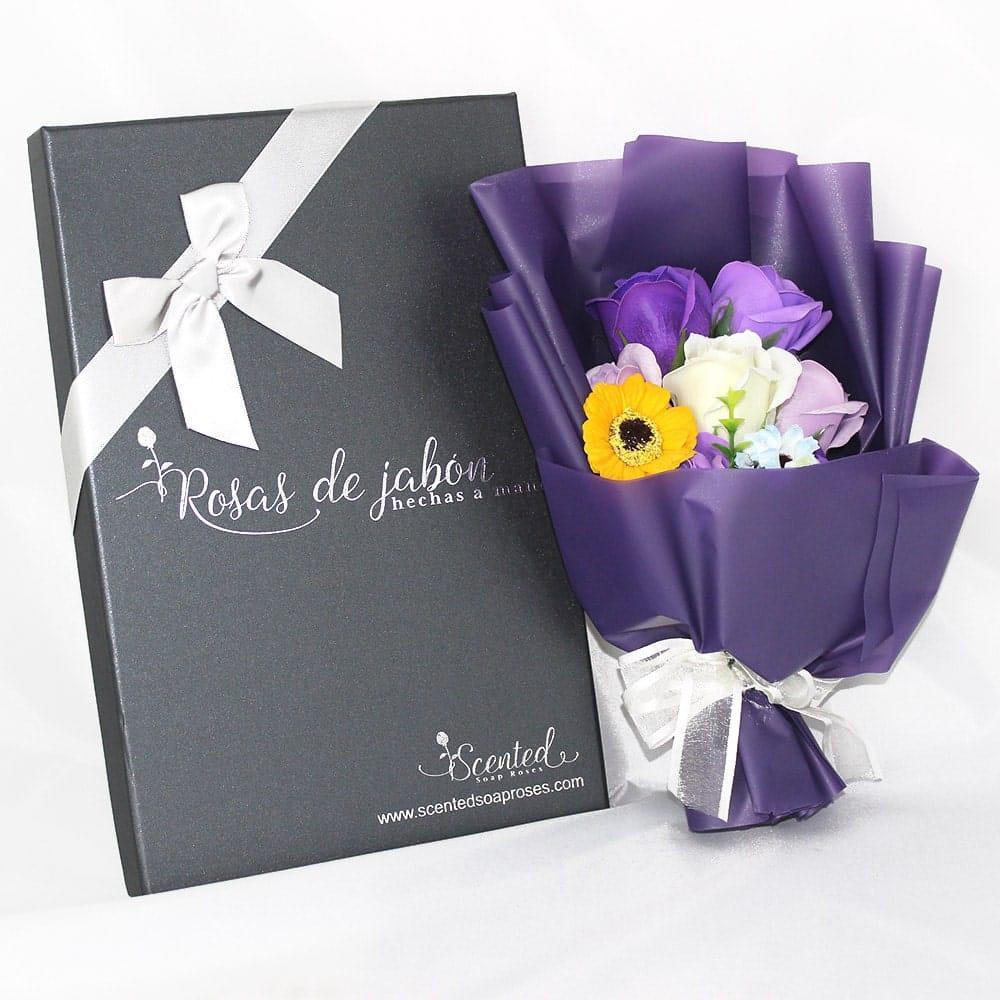ramo rosas jabon exotico - Ramos de rosas de jabón al 50% en BlackFriday