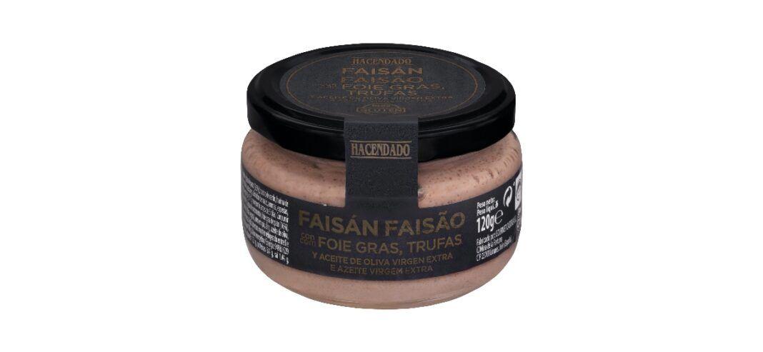 pate de faisan con foie gras y trufas de hacendado