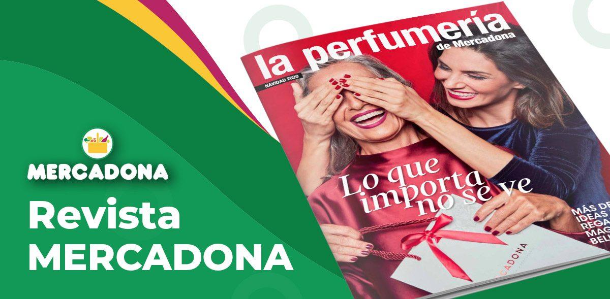Revista Mercadona La Perfumería Navidad 2020