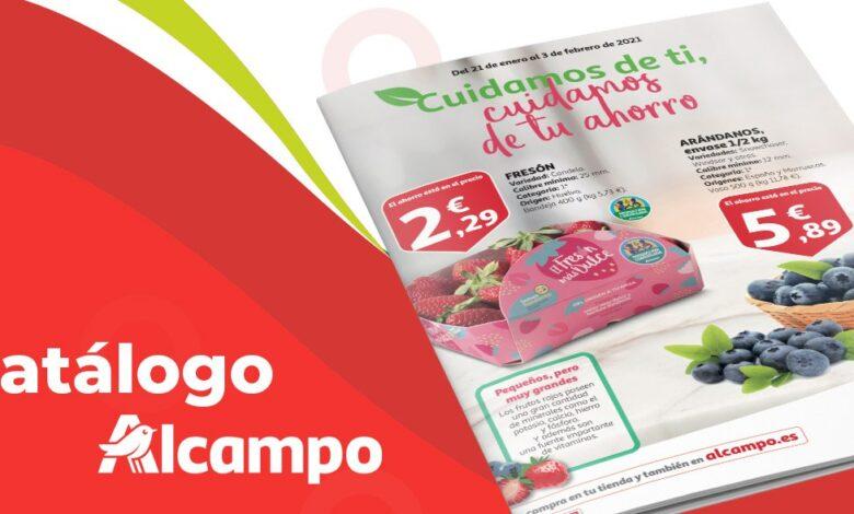 Folleto supermercados Alcampo del 21 al 3 de febrero