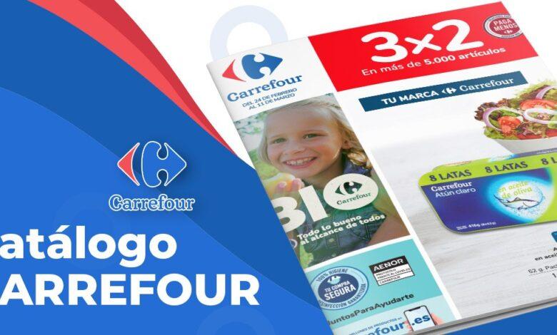 3x2 en Carrefour del 24 al 11 marzo