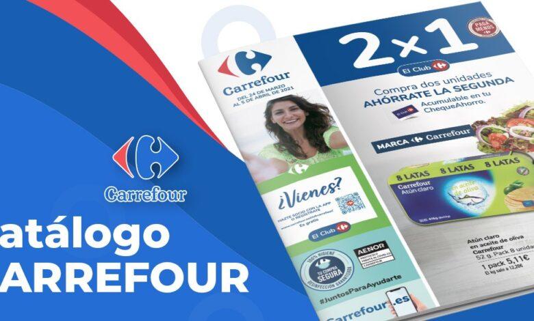 Carrefour 2x1 desde el 24 de marzo al 5 de abril