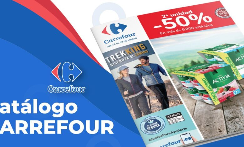 50% en Carrefour en Marzo