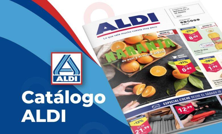 Catálogo semanal ALDI hasta el 23 de marzo