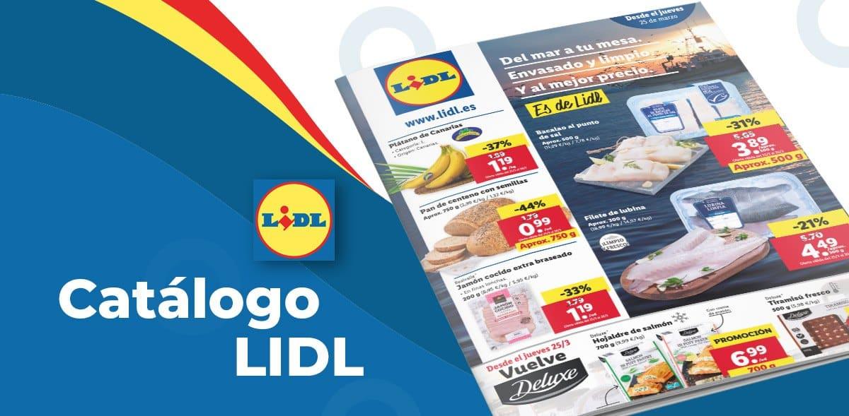 Folleto semanal alimentación en Lidl hasta el 31 de marzo