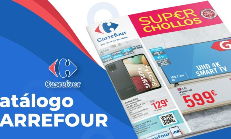 Chollazos en Carrefour en Abril