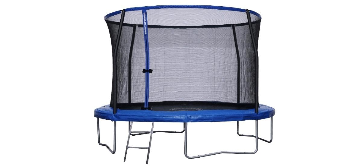 trampolin con red de seguridad aldi