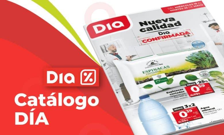 Catálogo online DIA hasta el 25 mayo
