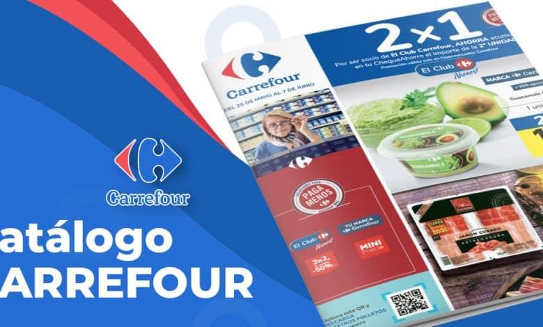 Folleto online Carrefour 2x1 Junio