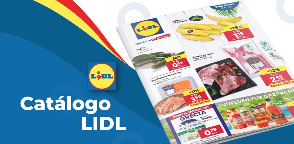 Folleto alimentacion LIDL hasta el 2 de junio