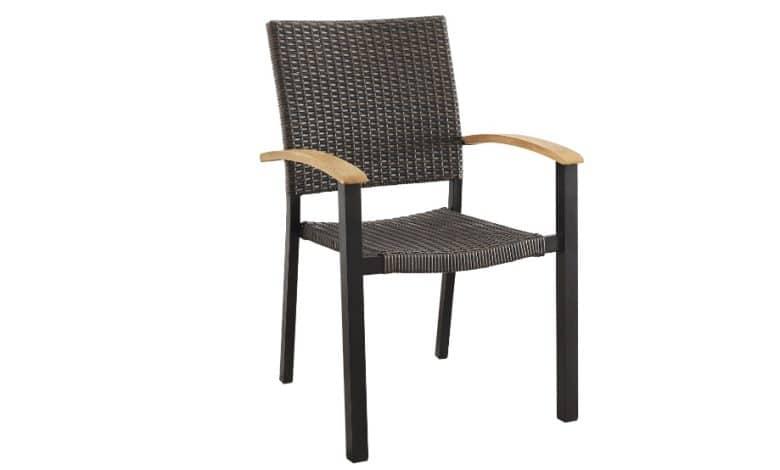 silla de jardin apilable belavi en aldi
