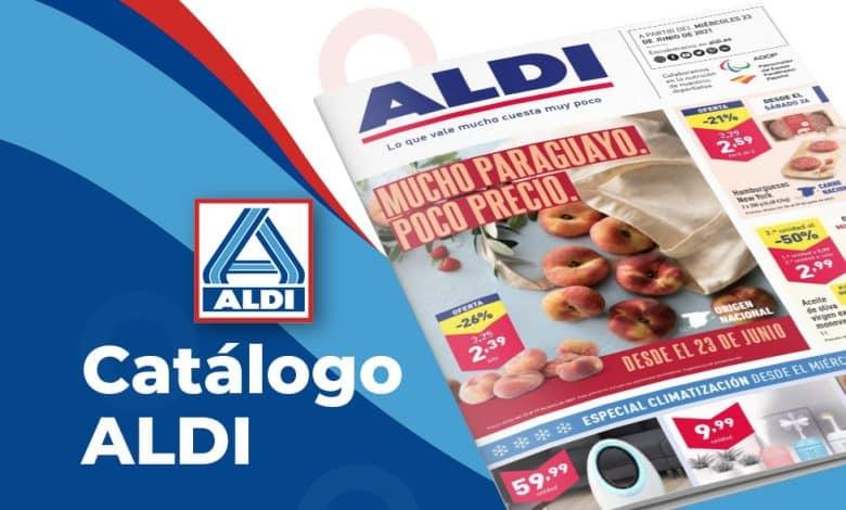 Folleto supermercados Aldi hasta el 29 junio