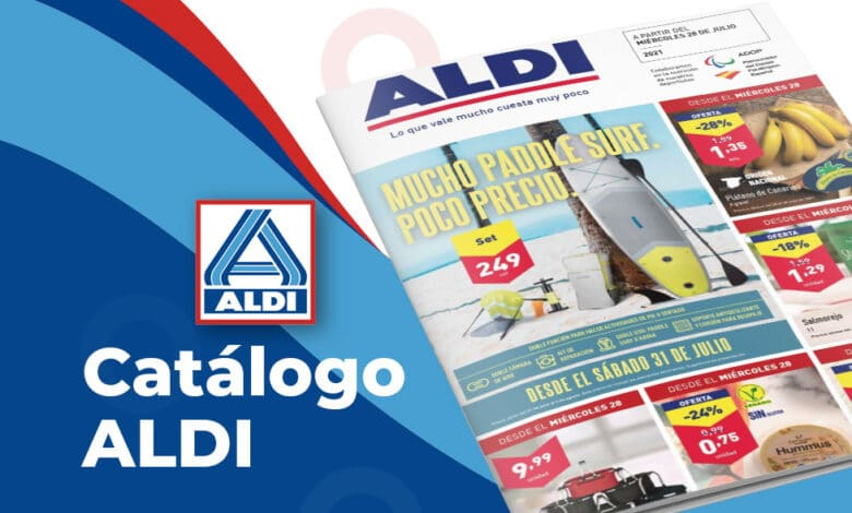 Folleto ofertas Aldi hasta el 3 de agosto