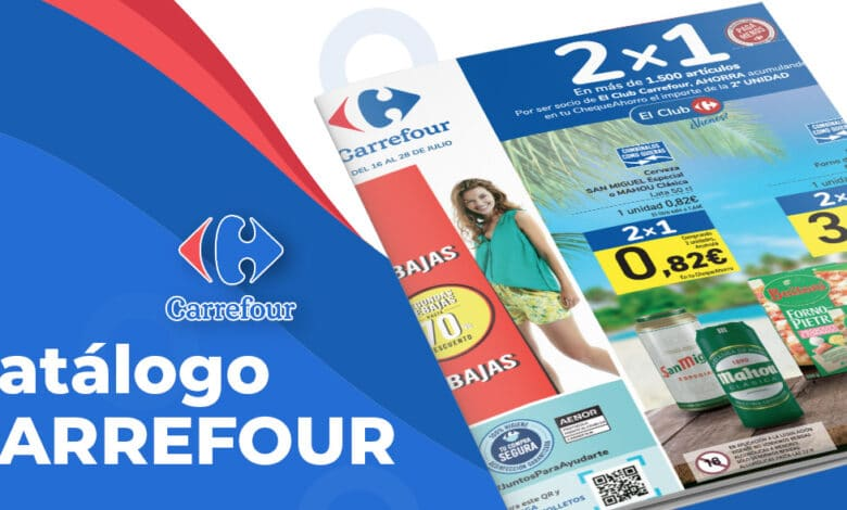 2x1 Carrefour del 16 al 28 julio