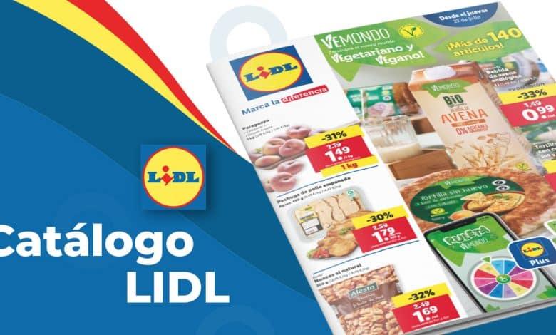 Folleto de ofertas LIDL del 22 al 29 julio