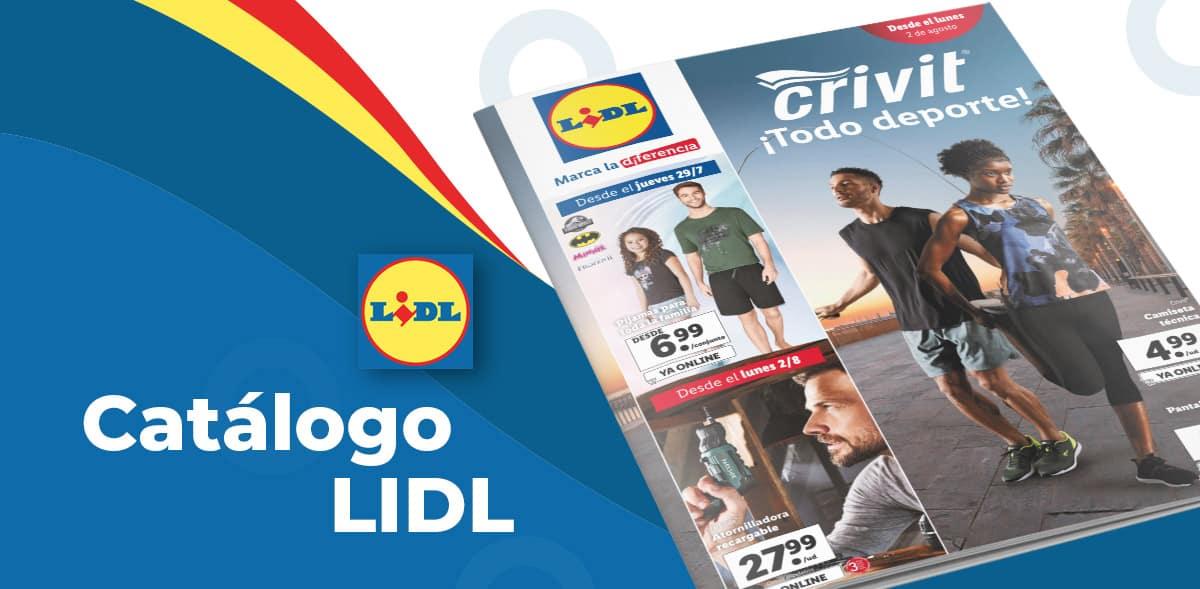 Artículos en oferta en Lidl del 29 al 4 agosto
