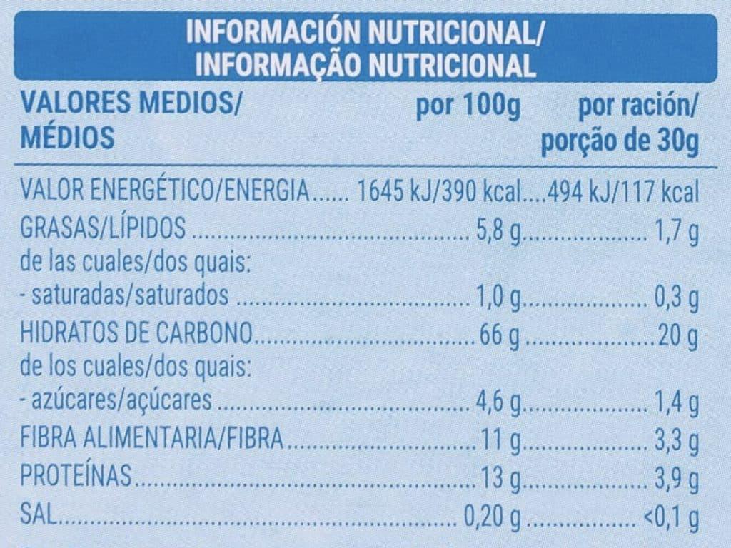 Cereales avena crunchy Hacendado en Mercadona