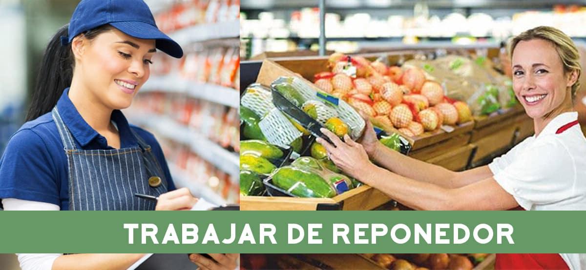 Trabajar de reponedor en Supermercados