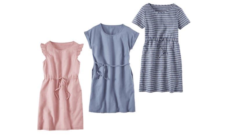 vestidos de lino en aldi