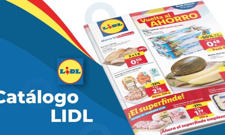 Folleto online de Lidl con ofertas en alimentación