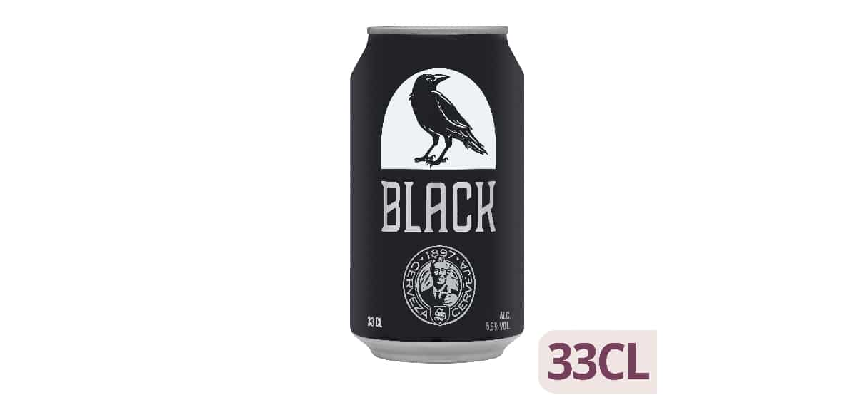 cerveza negra black 1897 Mercadona