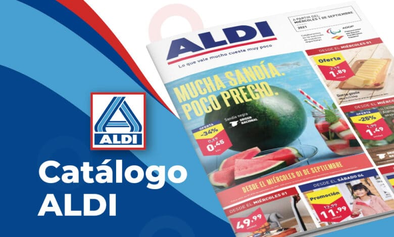 Folleto de ofertas ALDI del 1 al 7 de septiembre