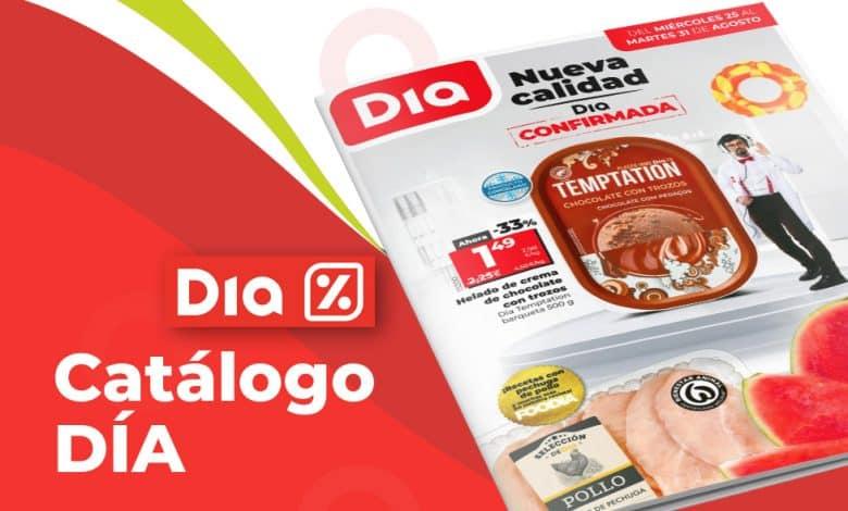 Catálogo ofertas semanales de DIA hasta el 31 agosto